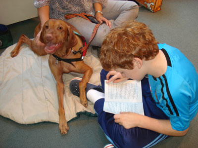 Paws To Read - Kids Read To Dogs