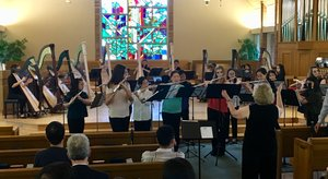American Youth Philharmonic Harp & Flute Ensembles