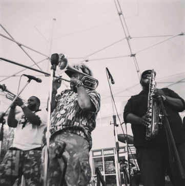 Rufus Roundtree and Da B'More Brass Factory