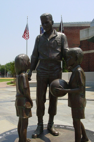 Rocky Versace Statue, Mt. Vernon Recreation Center