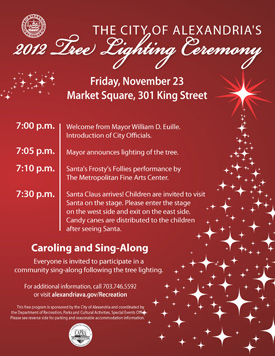 2012 Tree Lighting Ceremony