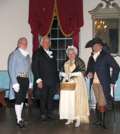 Dancing at Gadsby's Tavern Museum