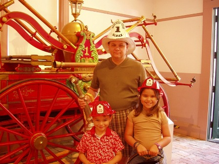 Father's Day at Friendship Firehouse. Courtesy, Office of Historic Alexandria