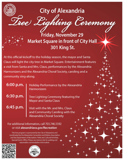 2013 City Tree Lighting Ceremony