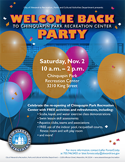 Chinquapin Park Recreation Center Re-opening Celebration