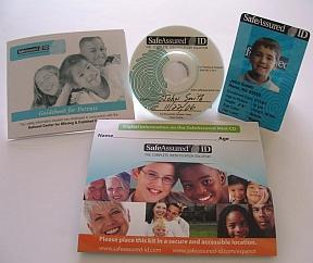SafeAssured Identification Kit courtesy of SafeAssured