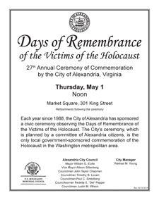 Days of Remembrance 2014