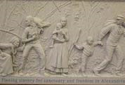 Bas Relief, Contrabands and Freedmen Memorial