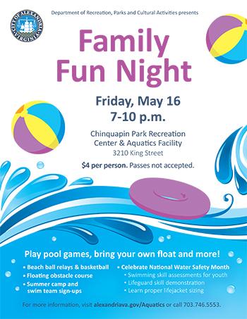 Family Fun Night Flyer