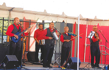 A crowd favorite, Melodica Oriental returns to perform in the traditional latino style.