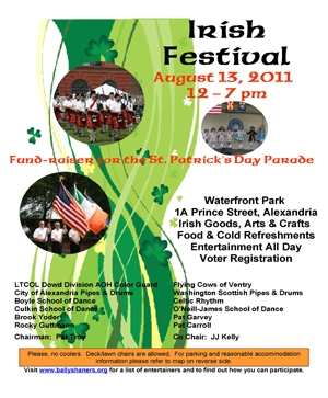 City of Alerxandria Irish Festival
