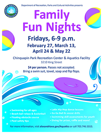 Event Details Family Fun Night Flyer