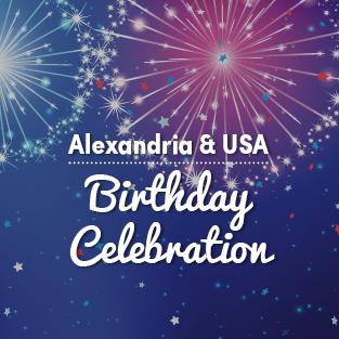 USA/Alexandria Birthday Celebration