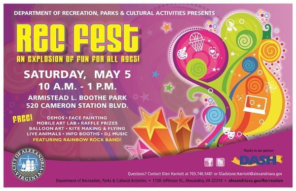 RecFest, Sat May 5, 2018 10:00 AM - 1:00 PM | Calendar