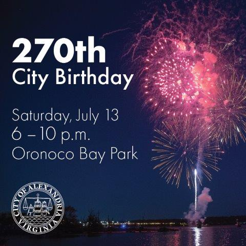 USA/City of Alexandria Birthday Celebration