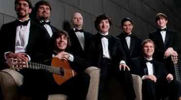 Students of George Mason University's Classical Guitar Program